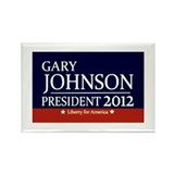 Cute Gary johnson Rectangle Magnet