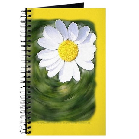 Daisy Spin Blank Journal