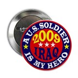 "2009 IRAQ SOLDIERS 2.25"" Button (10 pack)"