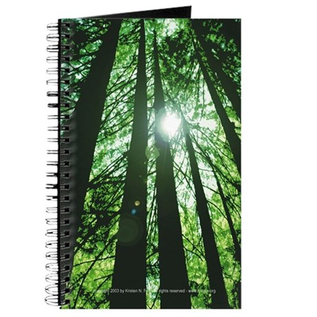 Towering Pines Blank Journal