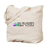 Lab Accident Super Villain Tote Bag