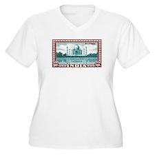 1940 India Taj Mahal Postage Stamp T-Shirt