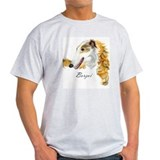Borzoi Ash Grey T-Shirt