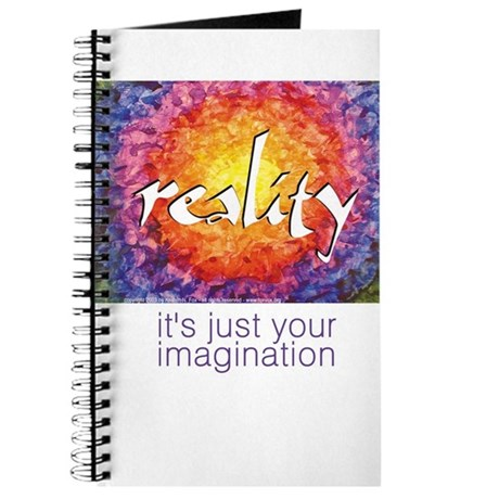 Reality-Imagination Blank Journal