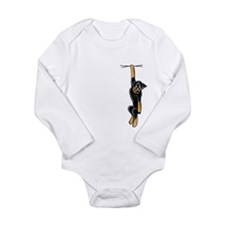 Clingy Rottie Long Sleeve Infant Bodysuit