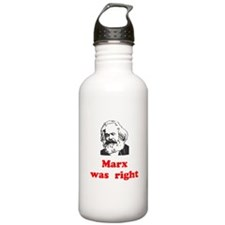 Marx was right #3 Water Bottle