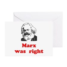 Marx was right #3 Greeting Cards (Pk of 10)