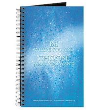 Be-Choose (Blue) Blank Journal