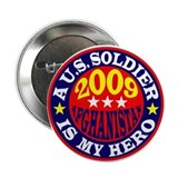 "2009 Afghanistan Soldier 2.25"" Button (10 pack)"