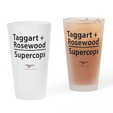 Supercops Drinking Glass