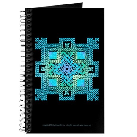 Celtic Knotwork Castle Blank Journal