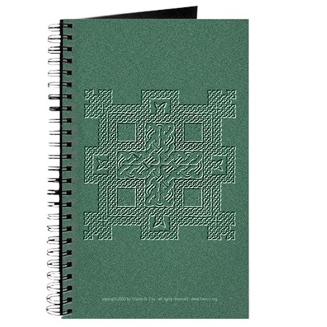 Celtic Knotwork (Stone) Blank Journal