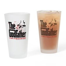 The Godfather Drinking Glass