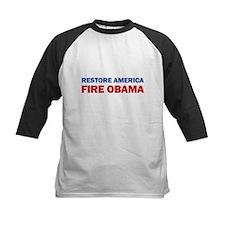 Restore America Fire Obama Tee