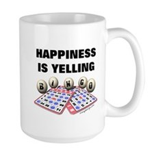 Happiness is Yelling Bingo! Mug