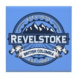 Revelstoke Blue Tile Coaster