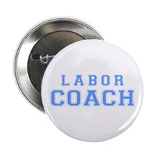 Labor Coach (blue) Button