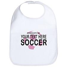 Prop Your Text Soccer Bib