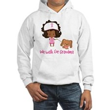 Breast Cancer Walk For Grandma Hoodie
