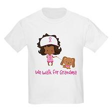 Breast Cancer Walk For Grandma T-Shirt
