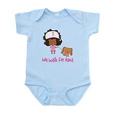 Breast Cancer Walk For Nana Infant Bodysuit
