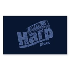 Dirty Harp Blues Decal
