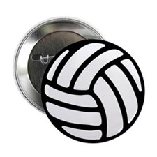 "Volleyball 2.25"" Button (100 pack)"