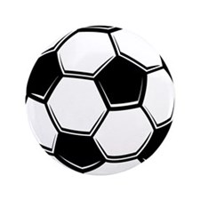 "Soccer Ball 3.5"" Button (100 pack)"