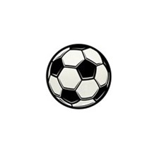 Soccer Ball Mini Button (100 pack)