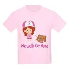 Breast Cancer Walk For Nana T-Shirt