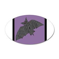 Bat_monster_goldndungeons 35x21 Oval Wall Decal