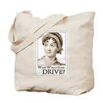 Jane Austen DRIVE Tote Bag