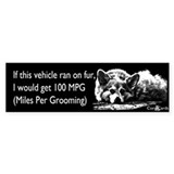 Corgi MPG Car Sticker