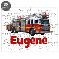 EUGENE - FIRE TRUCK - CUSTOM NAME Puzzle