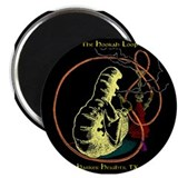 Hookah Smoking Caterpillar Magnet