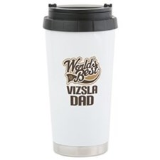 Vizsla Dad Gift Ceramic Travel Mug