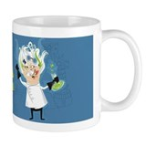 Dr. Stahl Mad Scientist on a Small Mugs! Small Mugs