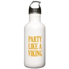 Party Like A Viking Water Bottle