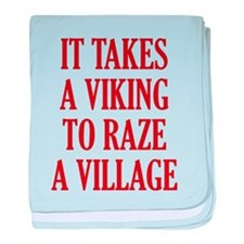 It Takes A Viking baby blanket