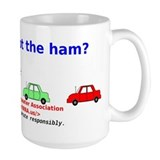 Can you spot the ham? Mug