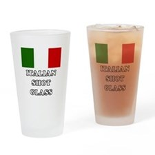 'Italian Shot Glass' Drinking Glass