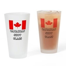 'Canadian Shot Glass' Drinking Glass
