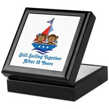 15th Anniversary Sailing Keepsake Box