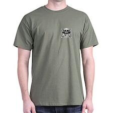 Navy SWCC Grunge Skull T-Shirt