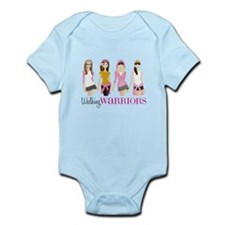 Walking Warriors Infant Bodysuit
