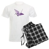 Lucky origami crane purple Pajamas