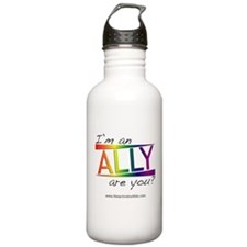 Straight Allies for Marriage Equality Water Bottle