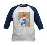 Retro Parody Japan Surf Print Tee