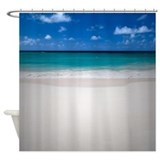 Perfect Beach Shower Curtain