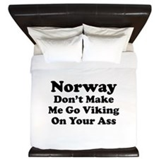 Norway Viking King Duvet